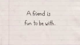 What is a Friend? Original Animation on JEENI